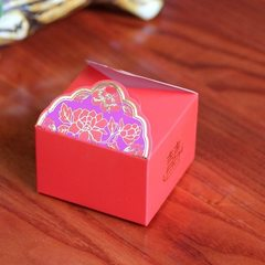 New type 2018 middle size red peony creative perso LH - 385 in the red Specification no. 8*8*5.7 cm