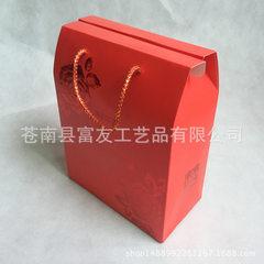 Wedding gift box hand - in - hand candy box custom red 30 * 20 * 10