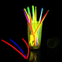 Large size fluorescent rod 300*10mm a barrel of 24 Red, blue, green and pink 30 * 1.0 cm