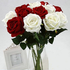 Imitation rose wedding products high - grade simul white