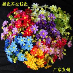 Emulated flower dancing orchid floret 28 heads dan purple