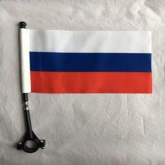 Custom Russian fan flag printing printing and prin 14 * 21