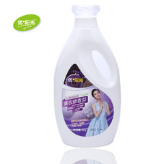 洗衣液厂家2kg瓶装洗衣液薰衣草香低泡易漂全效护理贴牌代加工
