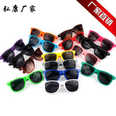 Personalized custom nail sunglasses advertising pr C1 bright black