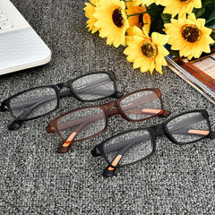 016 new TR90 presbyopic glasses folding constantly 100 degrees bright black