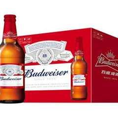 品质保证 价格优美  大瓶百威啤酒 460mlx12 商超 餐饮 夜市专供 460mlx12