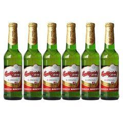 捷克进口 Budejovcky 百得福小麦白啤酒330ml*24瓶 窖藏啤酒 330ml*24