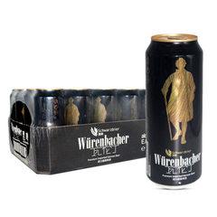 德国原装进口瓦伦丁黑啤酒500ml*24听整箱装德国进口啤酒 500ml*24瓶/箱
