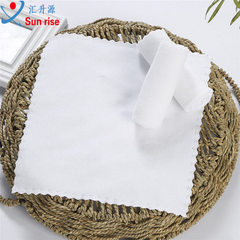Small square towel super fine fiber disposable sma White trimming 25 * 25 (200 g / ㎡)