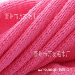 Nanometer super fine fiber square towel 25*25cm130 Deep pink 25 * 25