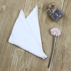 Hangzhou pure cotton towel wholesale white small s white 22 * 23