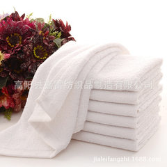 Manufacturer direct selling white square towel thr white 30 * 30