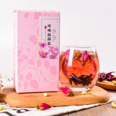 Gold and silver flower tea OEM flowers and plants  30 g tank