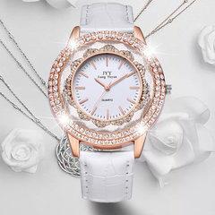 A new jiangyuyan brand new watch ladies quicksand  Purple 274301