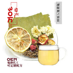 Winter melon lotus leaf tea rose combination flower tea bag tea herbal tea wholesale OEM processing  2.5 g * 30 bags