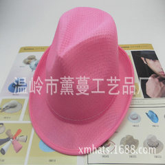 PP hat wholesale men and women hat custom cheap pl orange