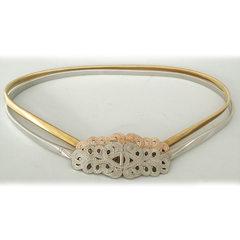 Fashionable and fashionable new style girdle femal golden