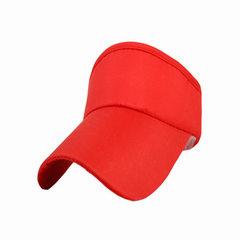 New empty top travel hat custom advertising hat cu red L (58-60 cm)