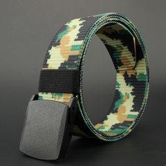 DOAKILV 跨境专供 迷彩坦克纹腰带 户外腰带 军训腰带 军迷腰带 从林迷彩