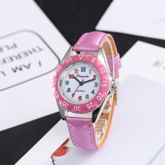 2018 new style children`s watch fashion belt small red