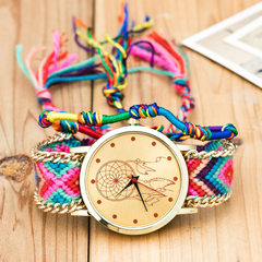Wish hot style watch national wind hand - woven wr Dreamer (with hand rope)