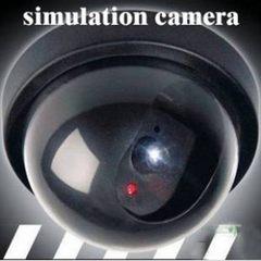 仿真摄像头厂家直销仿真监控 假监控假摄像头假半球大号带灯