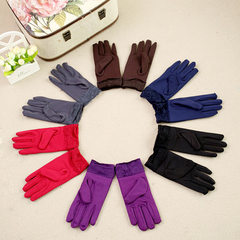 New style gloves women autumn winter lovely milk s blue