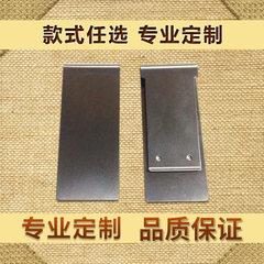 Manufacturer customized 48*20 rectangular bookmark silver