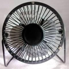 usb风扇 2015新款黑色风扇 电风扇 迷你风扇 4寸静音小风扇厂家
