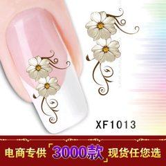 XF 美甲贴  水印指甲贴 接受订做 从 XF1001-XF1100共100款 XF1001