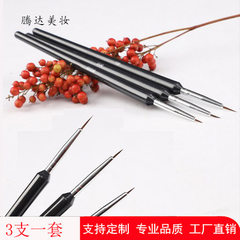 Factory direct sale nail drawing pen set 3 pieces  Three sets of