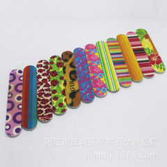 Manicure tool double - sided printing Eva nail fil 17.8 * 2 * 0.35