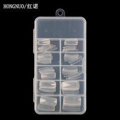 Manicure nail slice han biao transparent all paste 100 pieces of transparent paste
