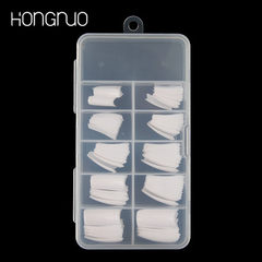 Manicure piece Korean standard white French manicu 100 pieces