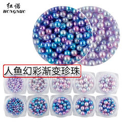 Nail decoration light treatment nail products dril Light color fastens 6 mm
