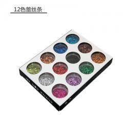 Nail mixing accessories colorful shaped diamond fa SM - 241.