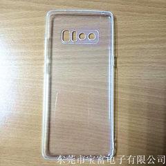 Mobile phone case transparent silicone cellphone c transparent The iPhone X
