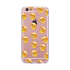 Blame the iPhone8 summer ice cream phone case appl The middle finger smiling face The iPhone 5 g / 5 s/SE