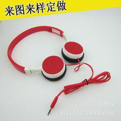 耳机工厂定做动漫折叠耳机 礼品有线儿童头戴式耳机 有线头戴耳机