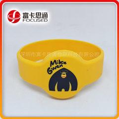 rfid硅胶腕带,IC芯片手环,厂家定制手腕带,款式多样