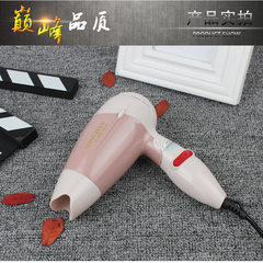 Wholesale mini small power folding hair dryer elec Pink blower