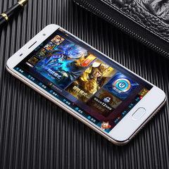 热销厂家批发5.0寸r11低价安卓智能手机4G双卡移动联通定制手机 金色