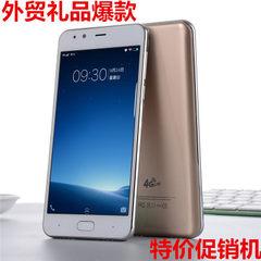 热销国产超薄大屏5.0寸八核智能安卓手机移动联通外贸特价批发M6 金色