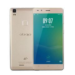 超薄5.0英寸大屏八核安卓智能手机移动联通4G大屏触屏双卡外贸机 金色