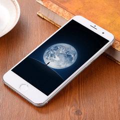 爆款厂家批发5.0寸 I7低价安卓智能3G双卡双待移动联通定制手机 黑色