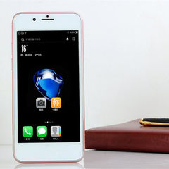 厂家批发 外贸出口手机 国产低端 智能手机4.5寸移动2G非一体机 金色