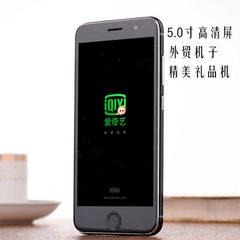 爆款智能安卓手机5.0寸3G外单出口国内礼品低价直销定制手机OEM 黑色