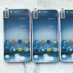 智能3G手机4寸大屏 mtk6572 512+4 安卓4.4外贸出口供应 多国外文 红色