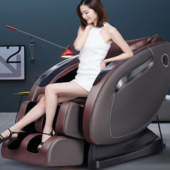 Massage chair sharing household manipulator space  Champagne gold Music style