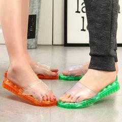 浴室按摩拖鞋家居室内鞋凉鞋塑料水晶洞洞2018新款夏季拖鞋 量大颜色可以定制